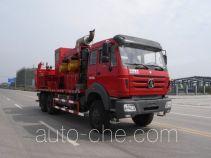 Sinopec SJ Petro SJX5240TYL70 fracturing truck