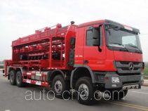 Sinopec SJ Petro SJX5312TYG fracturing manifold truck