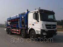 Sinopec SJ Petro SJX5316TYG fracturing manifold truck