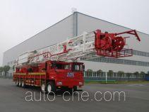 Sinopec SJ Petro SJX5551TXJ550 well-workover rig truck