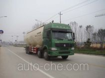 Charcoal powder transport truck