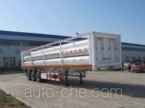 Shengrun SKW9400GGY high pressure gas long cylinders transport trailer