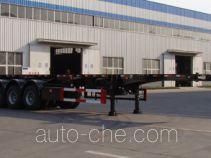 Shengrun SKW9400TWY dangerous goods tank container skeletal trailer