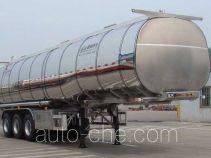 Shengrun SKW9401GYSL aluminium liquid food tank trailer