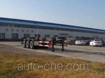 Shengrun SKW9401TGY high pressure gas long cyllinders transport skeletal trailer