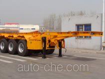 Shengrun SKW9401TWY dangerous goods tank container skeletal trailer