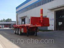 Shengrun SKW9401ZZXP flatbed dump trailer