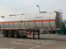 Shengrun SKW9402GRYL flammable liquid aluminum tank trailer