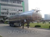 Shengrun SKW9402GYS aluminium liquid food tank trailer