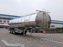Shengrun SKW9402GYSL aluminium liquid food tank trailer