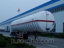 Shengrun SKW9403GDY cryogenic liquid tank semi-trailer