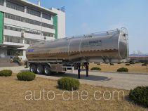Shengrun SKW9405GYSL aluminium liquid food tank trailer