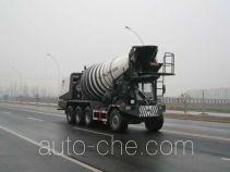 Longdi SLA5281GJBQ front discharge concrete mixer truck