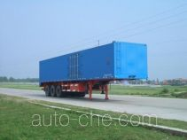 Longdi SLA9391XXY box body van trailer