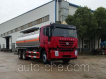 Flammable liquid tank truck