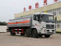 醒狮牌SLS5253GHYD型化工液体运输车