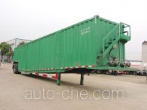 Fracturing fluid storage trailer