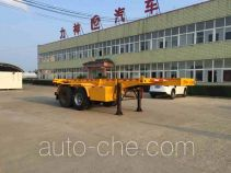 Xingshi SLS9351TWY dangerous goods tank container skeletal trailer