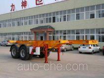 醒狮牌SLS9352TJZ型集装箱运输半挂车