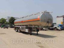 Xingshi SLS9353GRY flammable liquid aluminum tank trailer