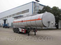 Flammable liquid tank trailer