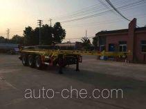 Xingshi SLS9401TWY dangerous goods tank container skeletal trailer