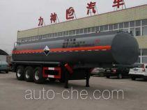 醒狮牌SLS9405GHYA型化工液体运输半挂车