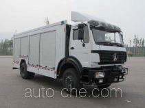 Shenglu SLT5160XZBFJ equipment transport vehicle