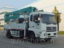 森源牌SMQ5160THB型混凝土泵车