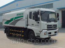 森源牌SMQ5160ZDJDFE5型压缩式对接垃圾车