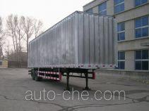 吉平牌SPC9211XXY型半挂厢式车
