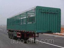 吉悦牌SPC9400CXL型仓栅式运输半挂车
