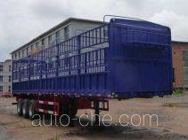 吉悦牌SPC9404CCY型仓栅式运输半挂车