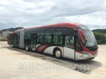 Electric articulated city bus