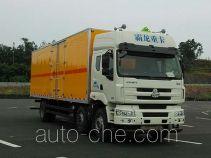 Qinhong SQH5220XQY грузовой автомобиль для перевозки взрывчатых веществ