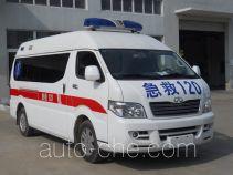 威麟牌SQR5040XJHH13型救护车