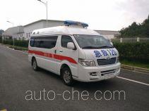 威麟牌SQR5040XJHH13D型救护车