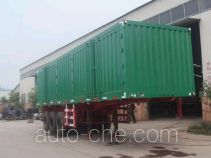 Kaishicheng SSX9331XXY box body van trailer