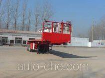 Kaishicheng SSX9404ZZXP flatbed dump trailer
