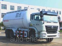 Lufeng low-density bulk powder transport tank truck