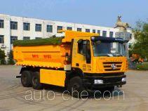 鲁峰牌ST5255ZLJM型自卸式垃圾车