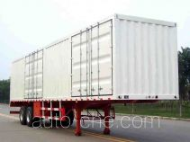 Lufeng box body van trailer