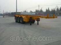 Daxiang STM9401TWY dangerous goods tank container skeletal trailer