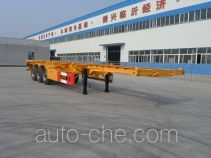 Daxiang STM9402TWY dangerous goods tank container skeletal trailer