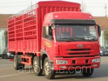 荣昊牌SWG5250CLXYP1K2L1T3E3B型仓栅式运输车