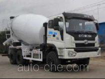 荣昊牌SWG5258GJB型混凝土搅拌运输车