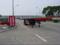 荣昊牌SWG9350TJZG型骨架式集装箱运输半挂车