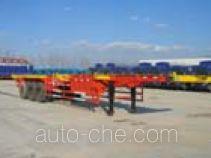 荣昊牌SWG9390TJZG型集装箱运输半挂车