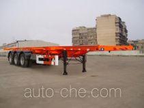 荣昊牌SWG9400TJZG型集装箱运输半挂车