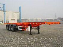 荣昊牌SWG9401TJZG型集装箱运输半挂车
